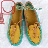 giày  nữ lười thời trang đa màu sắc NU-628-2