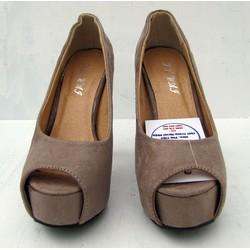 Giày cao gót thời trang dành cho bạn nữ xinh xắn NU222-A-Grey