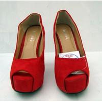 Giày cao gót thời trang dành cho bạn nữ xinh xắn NU222-A-RED