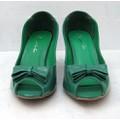 Giày cao gót thời trang dành cho bạn nữ xinh xắn NU568-3-GREEN