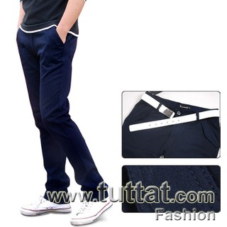 Quần kaki màu trơn quần kaki nam quần thô nam QDK005