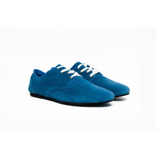 Giày zara da lộn-xanh Urban