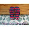 Happy Shop. MS014C Dép Monobo sọc dễ thương. Mang cực êm.
