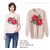 Áo thun tay dài hoa hồng len thu đông 2013 (Zara)