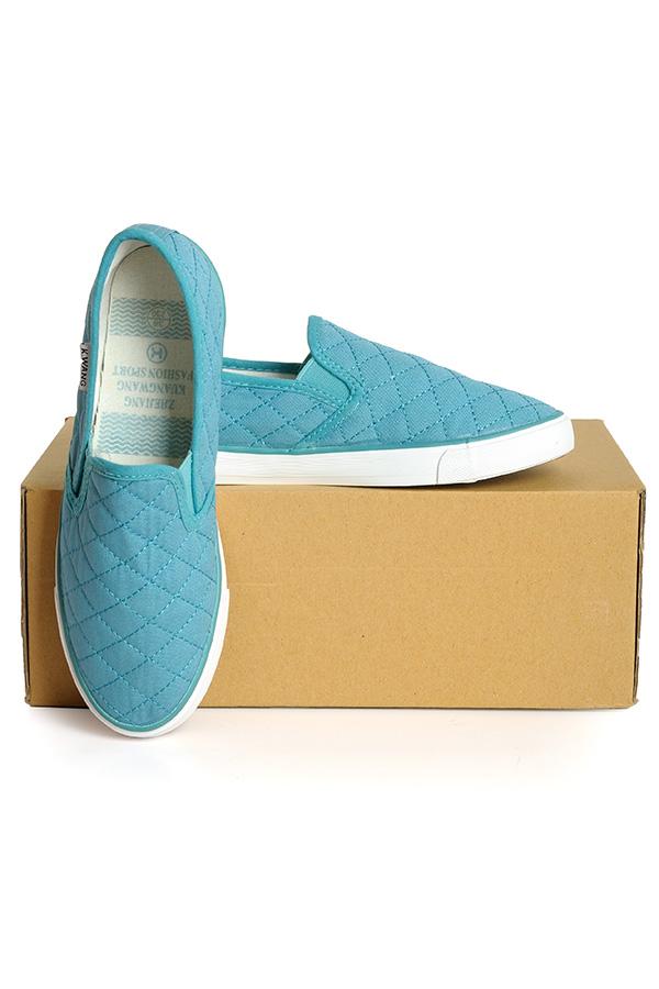 Giày lười vải Hàn Quốc - 530011