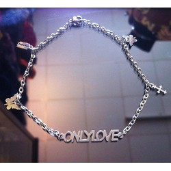 [Greenlife Shop] LX105 - Lắc tay inox Only Love