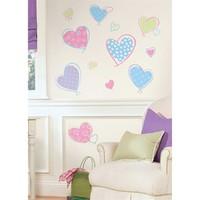 Sticker trang trí tường RoomMates - Hearts