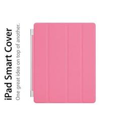 SMART COVER 1 MẶT HÍT NAM CHÂM IPAD 4 - 3 - 2 - PINK