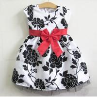 Đầm công chúa - ép nhung màu trắng đen 13kg - 26kg