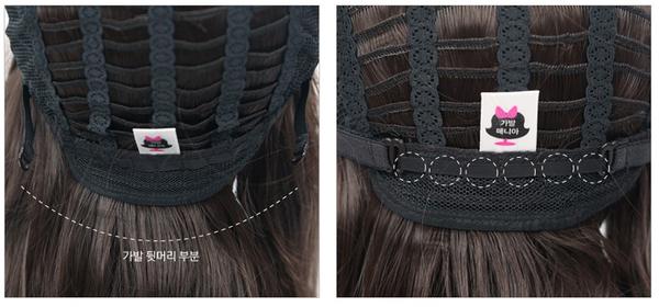 tóc giả làm từ tóc thật giành cho nam Zm009 5