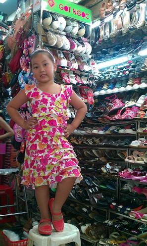 Hình ảnh Giày mọi  bé gái P-4 2