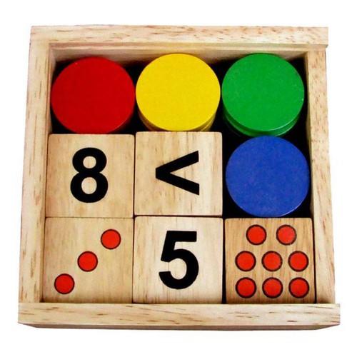 Bộ học toán WinwinToys 61312 gỗ Đức Thành