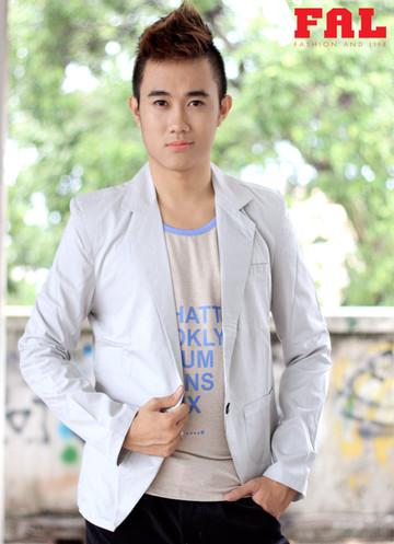Áo khoác vest màu kem trắng 1