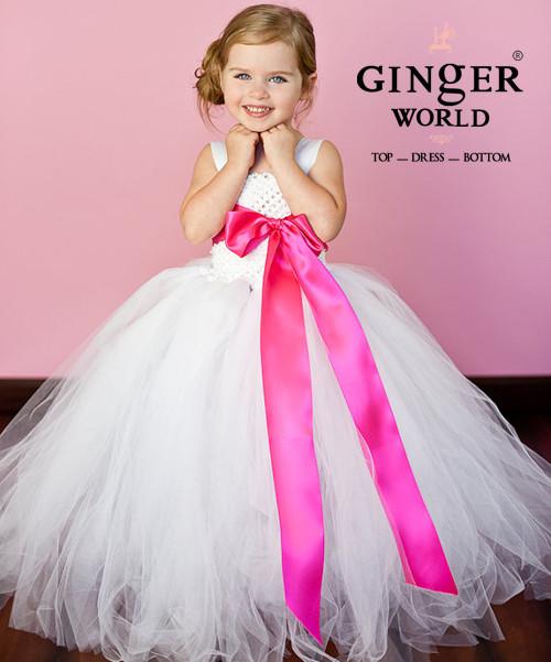 Đầm công chúa phụ dâu cho bé PD186 2