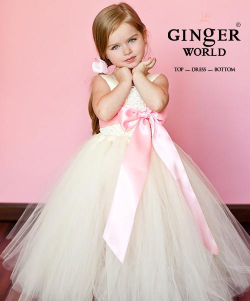 Đầm công chúa phụ dâu cho bé PD186 3