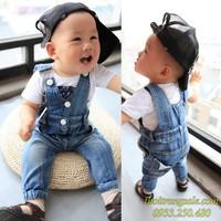 Quần jean yếm bé trai BB607