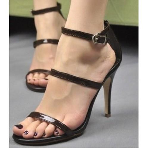 Giày cao gót 2 quai mảnh 1