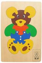 Tranh ghép con gấu