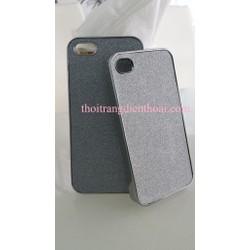 Ốp lưng da ánh kim cho Iphone 5