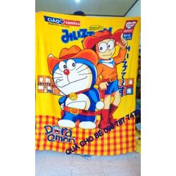 Mền Nỉ Thái Lan băng lông mềm mịn hoạt hình Nobita và Doremon