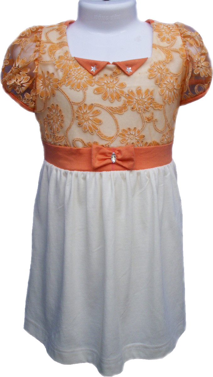 Hình ảnh Combo bộ đầm ren cho mẹ và bé 3