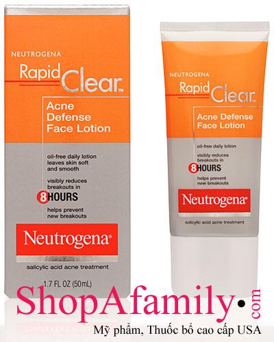 kem duong da tri mun neutrogena rapid clear acne defense face lotion 1m4G3 kem duong da tri mun neutrogena rapid cl 2hk9jca5jdnb1 Tạo những phương án thông minh khi chuẩn bị mua kem dưỡng da mặt