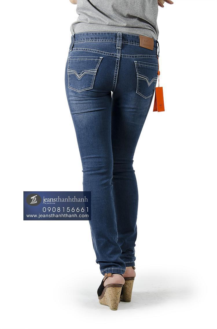 Hình ảnh Quần jeans nữ Hermes-8068 2