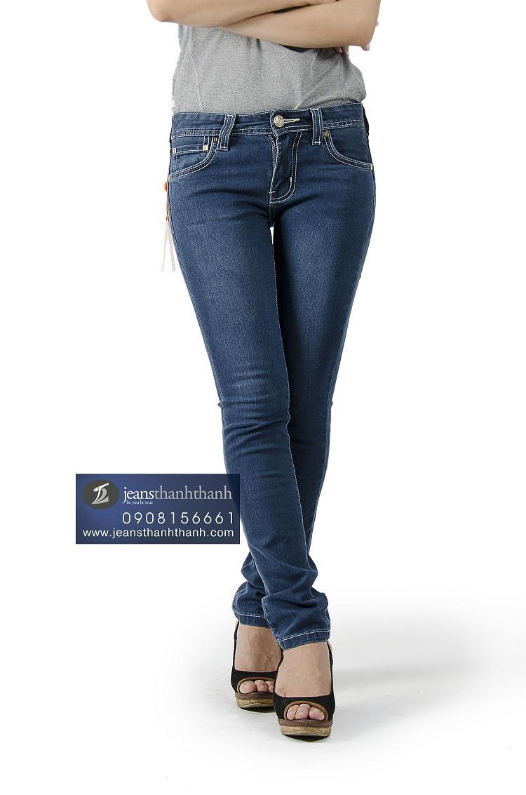 Hình ảnh Quần jeans nữ Hermes-8068 1