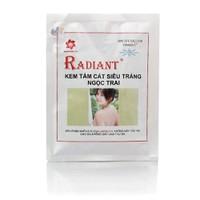 Kem tắm trắng cát Radiant Ngọc trai 150g