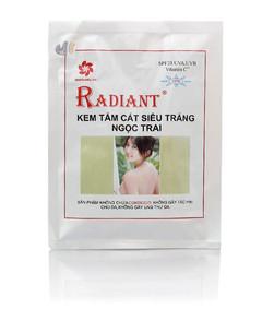 Kem tắm trắng cát Radiant Ngọc trai 150g 1