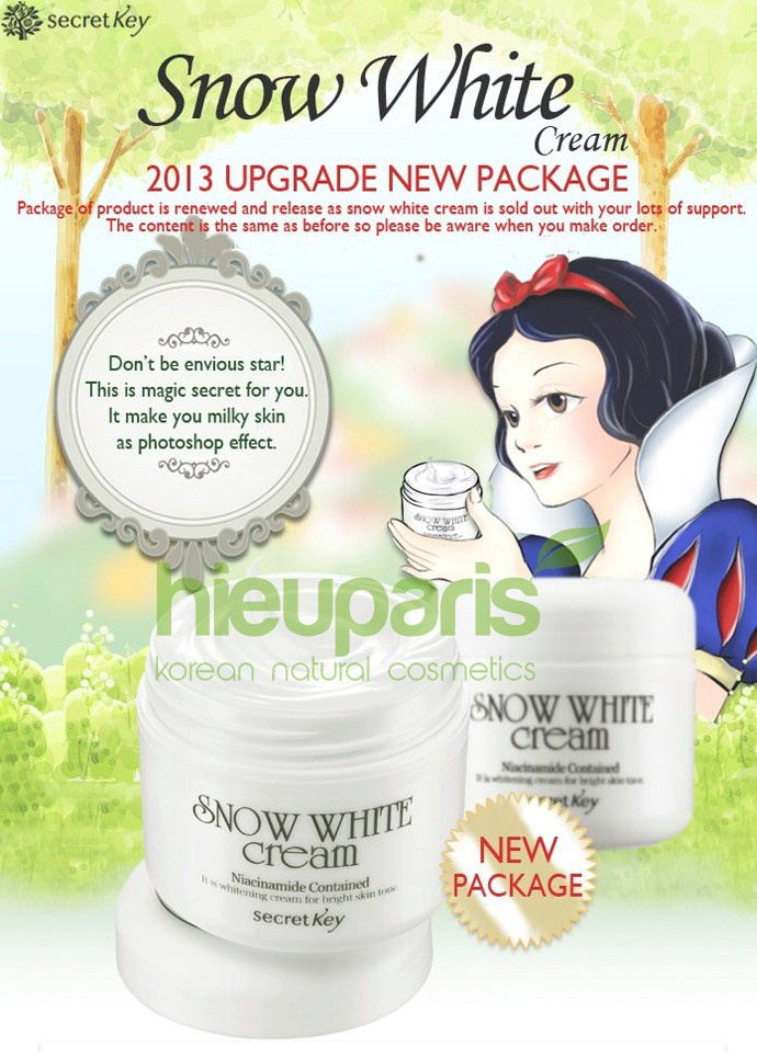 kem duong da snow white cream 1m4G3 20130516110109 secretkey 002 01 2hqe498b9q2jl Lưu ý một khi chọn mua kem dưỡng da nam