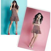 Đầm suông chân váy xòe : 13022201
