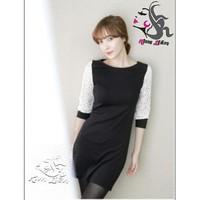 Đầm phong cách Hàn Quốc D118