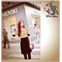 Đầm phong cách Hàn Quốc D119