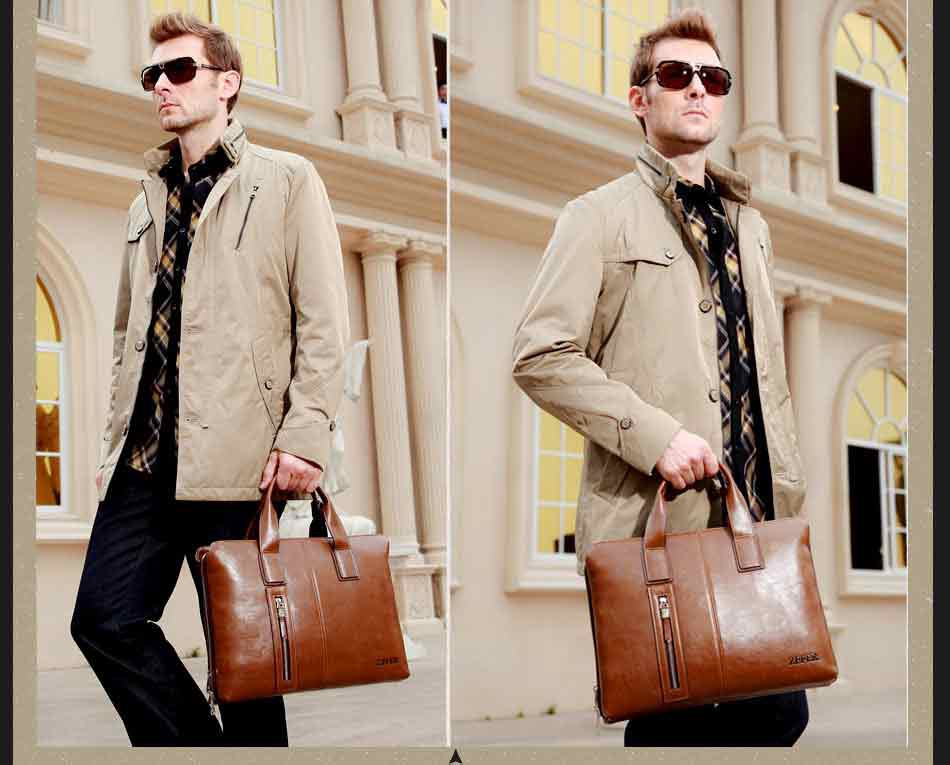 Túi xách - Phụ kiện thể hiện sự sang trọng, đẳng cấp cho nam giới