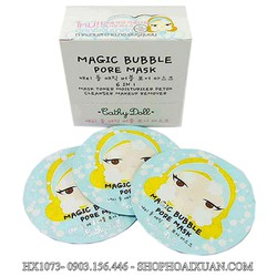MẶT NẠ MẶT CATHY DOLL MAGIC BUBBLE PORE MASK - HX1073