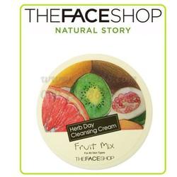 Kem tẩy trang  Herb Day Cleansing Cream Fruit Mix