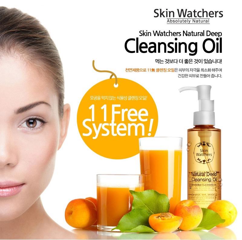 Hình ảnh Dầu tẩy trang thiên nhiên Cleansing Oil Natural - Skin Watchers 1