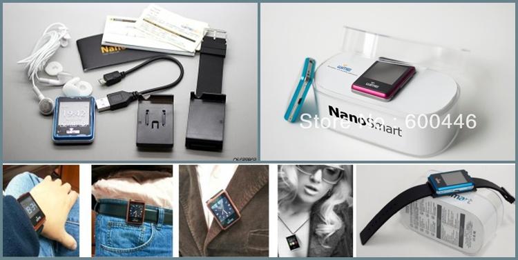 Hình ảnh Đồng hồ thông minh Bluetooth WIME Nano Smart 4