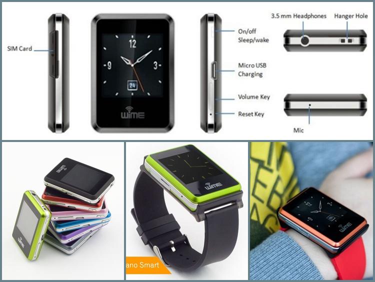 Hình ảnh Đồng hồ thông minh Bluetooth WIME Nano Smart 3