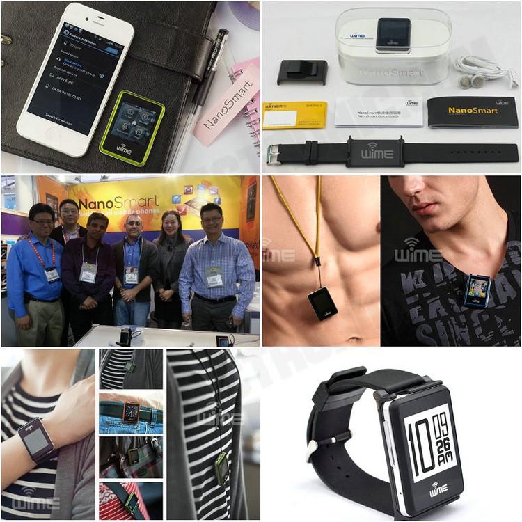 Hình ảnh Đồng hồ thông minh Bluetooth WIME Nano Smart 6