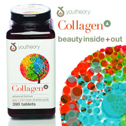 Hỗ trợ da youtheory™ Collagen Advanced Formula, 390 viên