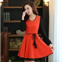 Đầm Váy Công Sở Hàn Quốc D404