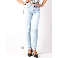 Quần jeans skinny nữ xanh bạc sáng 0160