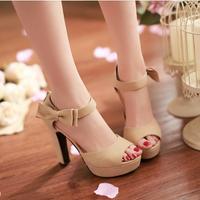 Giaydepxinh - C001M - Giày cao gót nơ xinh