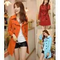 Áo khoác nữ kaki 2 lớp cao cấp KNU32 - 4 màu cho bạn lựa chọn