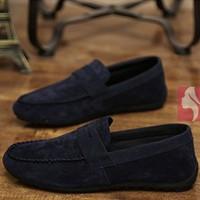 Giày lười nam phong cách Hàn Quốc - G11