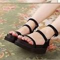Giày sandal bánh mì 3 dây xỏ ngón