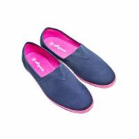 Giày lười hiệu Aqua sportwear màu xanh Navy