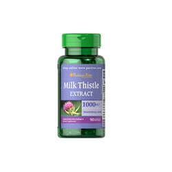 Milk Thistle 1000mg  – Thực phẩm chức năng bổ gan Hộp 90 viên